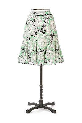 Anthropologie Wallflower Skirt