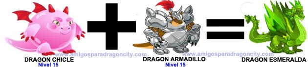 como sacar el dragon esmeralda en dragon city combinacion 3