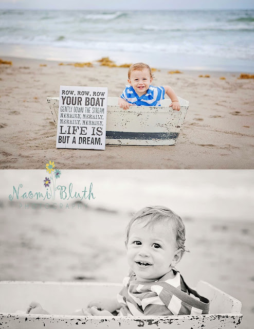 boca raton baby beach photography portraits boat