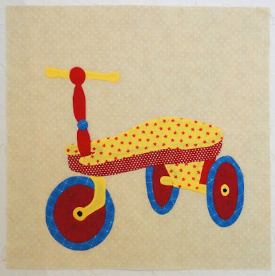 Playtime: the tricycle