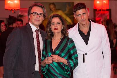 Maurice Argent (Fernando Eiras), Fanny (Marieta Severo) e Anthony (Reynaldo Gianecchini). Crédito: Globo/ Felipe Monteiro