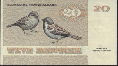 Danimarca 20 Kroner 1981 P# 49