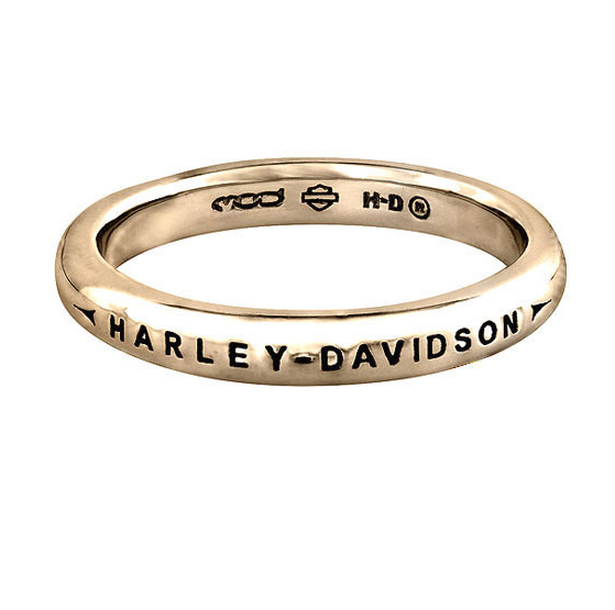 these rings are gorgeous and are available for customized ordering in our motorclothes apparel department at adventure harley davidson - Harley Wedding Rings