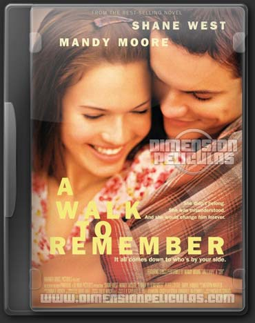 A Walk To Remember (BRRip HD Dual Ingles / Latino) (2002)