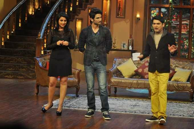 Video for Comedy Nights with Kapil - Parineeti & Sushant Singh - 1st September 2013
