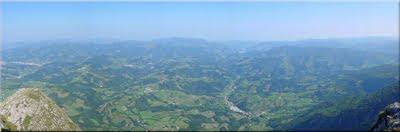 Panorámica desde la Cima - Agosto 2005