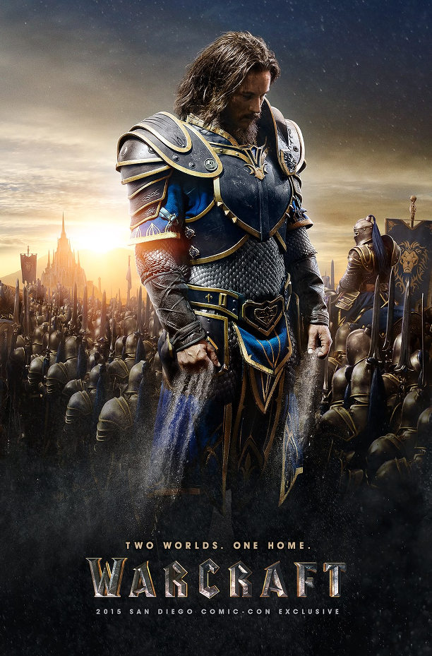 warcraft, Travis Fimmel, poster, comic con, film