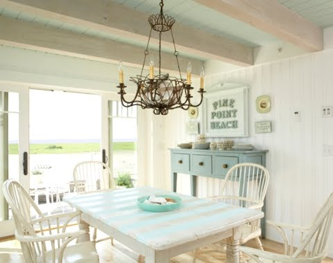 coastal summer cottage decor by Tracey Rapisardi
