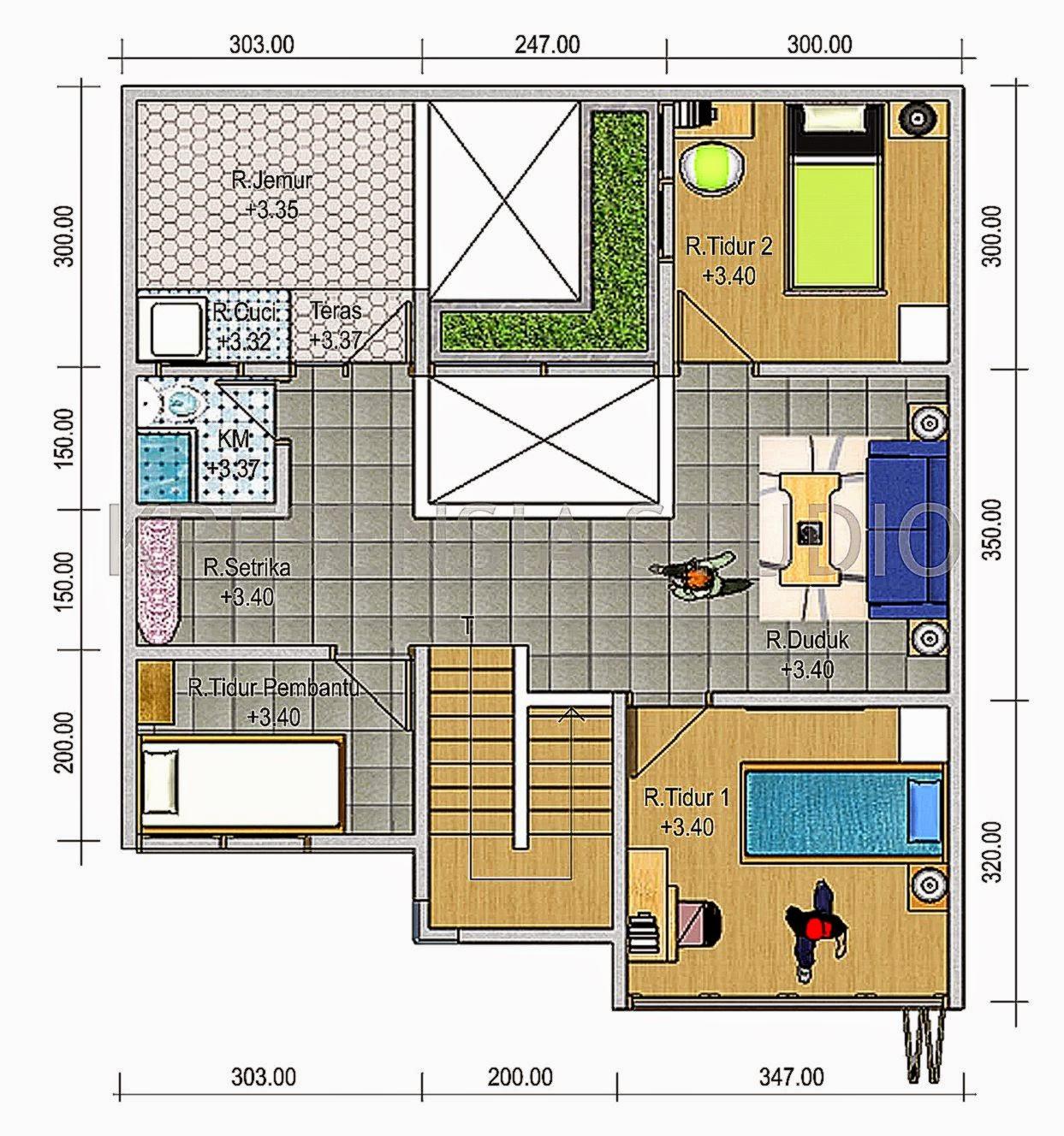 Arsitek Rumah Minimalis Modern Sederhana 2015