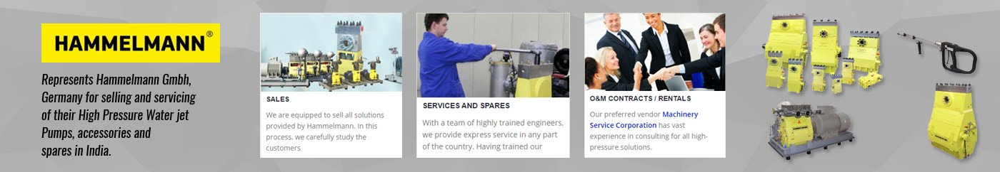 Process Pumps, High Pressure Pumps & Accessories and Servicing Company in India