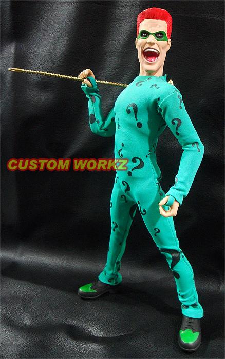 Gallery images and information: Riddler Costume Jim Carrey Hephaestus Greek God Costume