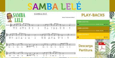 http://mariajesusmusica.wix.com/sambalele