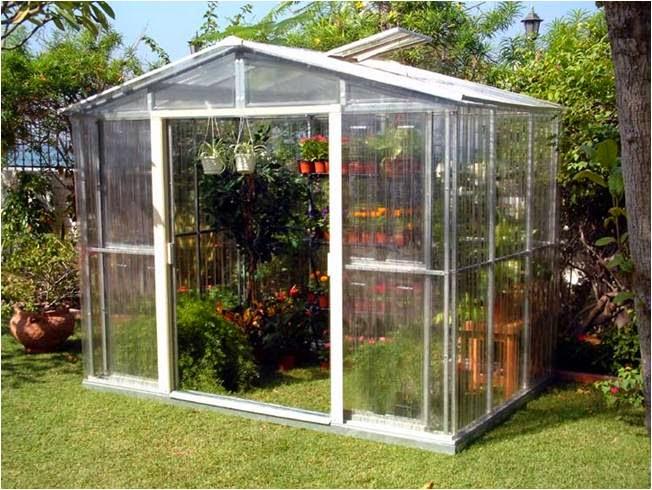 Los invernaderos de jardin verde jard n for Invernadero en casa
