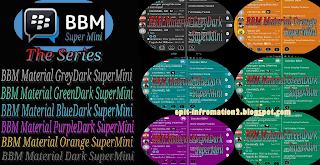 BBM Mod Material Super Mini The Series 2.8