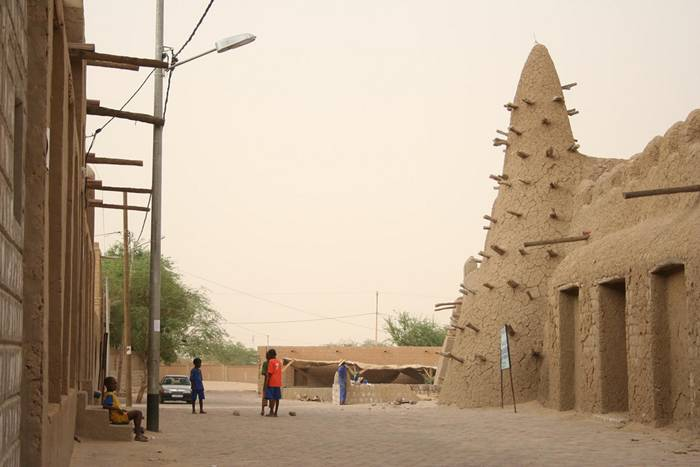 Located in West Africa, temperatures in Timbuktu can reach upwards of 130 Fahrenheit and average an uncomfortable 108 in the month of May. A key player in the spread of Islam to Africa, Timbuktu is home to several influential mosques and boasts the world's most coveted collection of ancient manuscripts.  Regardless of its historical appeal, Timbuktu is only for those unaffected by super hot temperatures, or looking for a really good swea