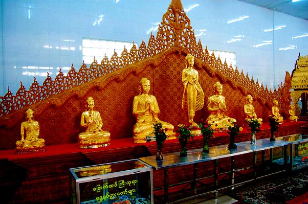 The Giant Reclining Buddha Of Yangon