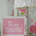 You Are My Sunshine Print and A Peek of Lillie and Lola's Room