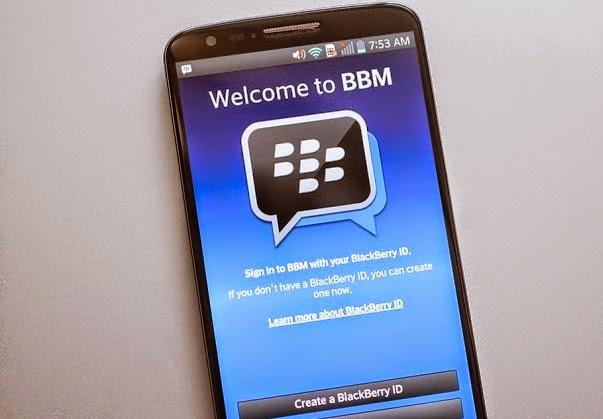 Cara Mudah Daftar Akun ID BBM Pada Smartphone Android