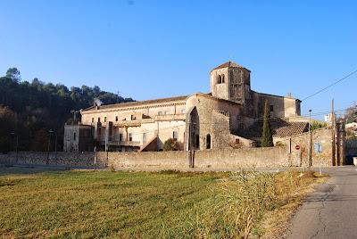 Vall de Sant Daniel. Girona. Bé Cultural d'Interès Nacional. Monasteri de Sant Daniel.