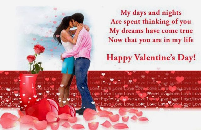 Romantic Valentines Day 2015 Cards Message Greeting Pictures – Great Valentines Day Card Messages