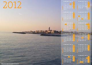 Calendario 2012 foto Marina di Pisa