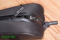 Gitzo GC1201T tripod carry case zipper detail