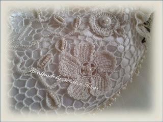 Vintage bridal purse