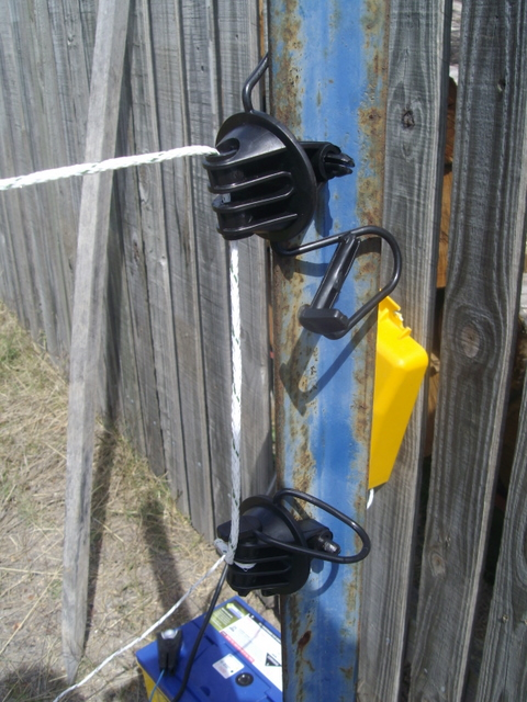 how to set up an electric fence for cattle