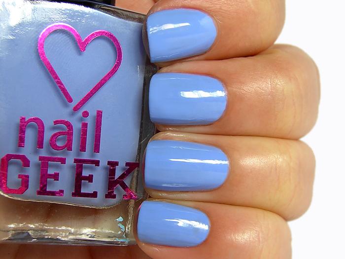 I Heart Makeup Nail Geek - Clear Skies