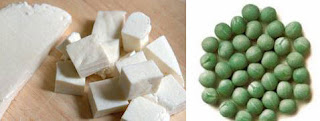 Cottage Cheese(Paneer) & Green Peas(Matar)