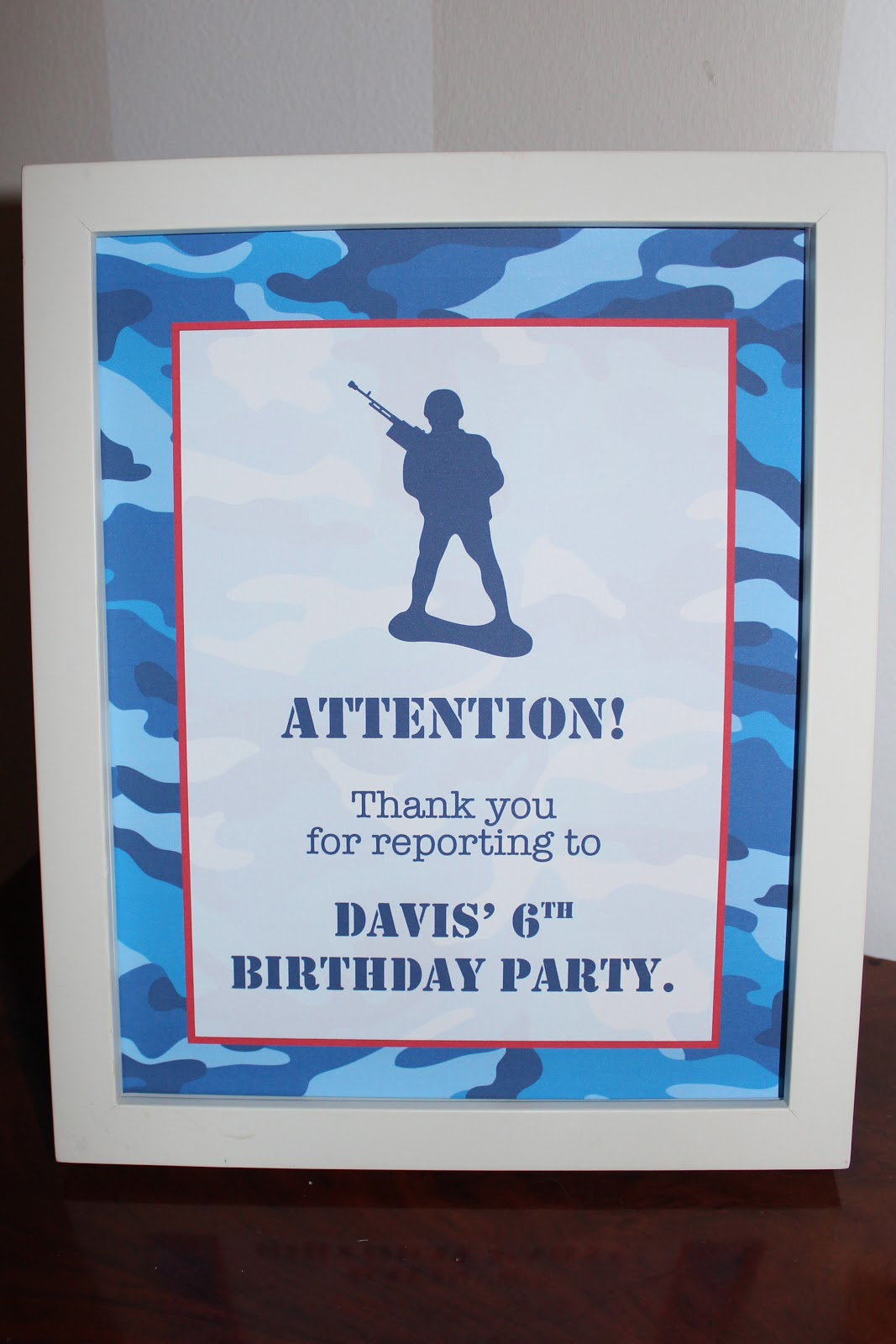 Military Party in Bloom - Bloom Designs