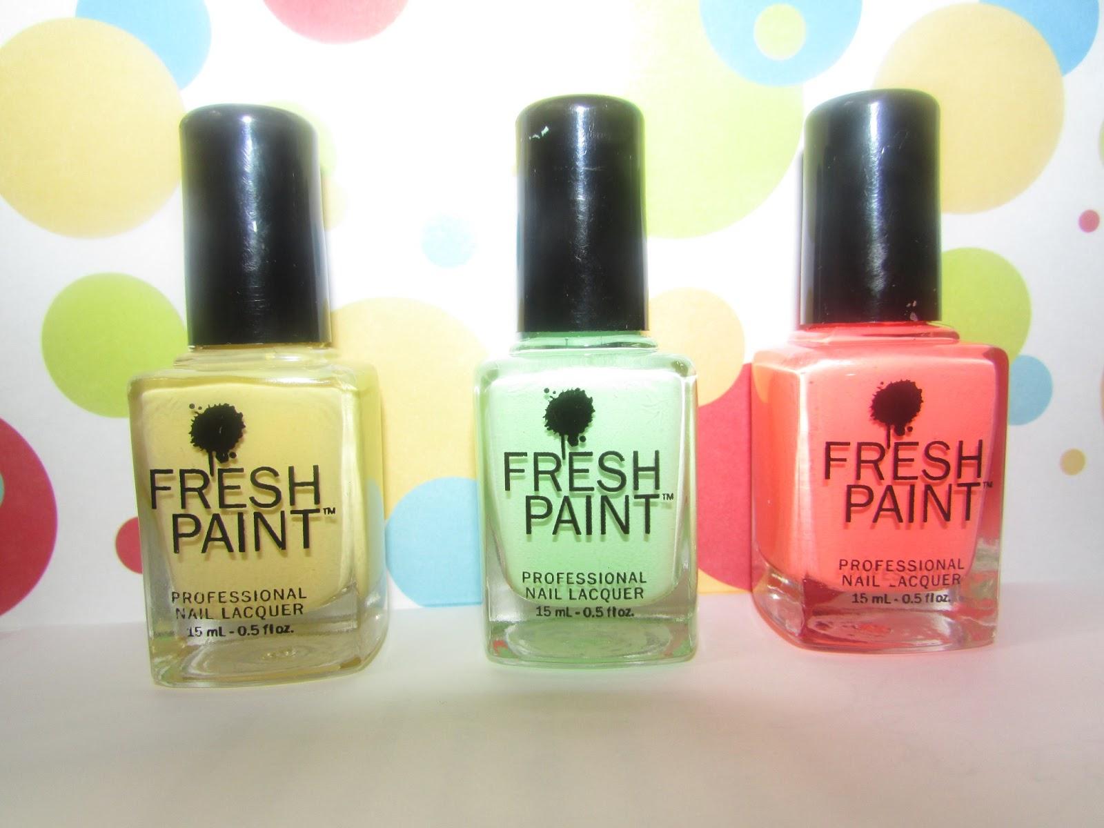 Polish Passion: Fresh Paint Colors !