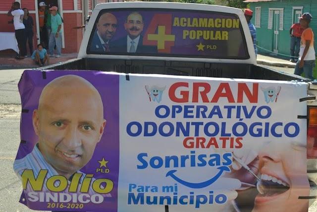 Nolio De León invita a los operativos Sonrisas para mi Municipio en Yaque y Arroyo Cano