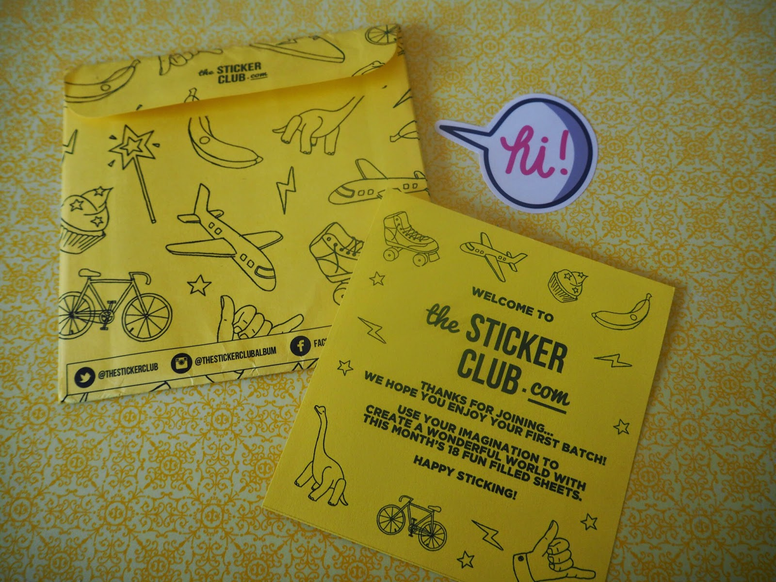 V. I. BUSY BEES: Wanna join The Sticker Club? Here's how… and a giveaway too!