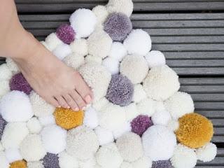 tapis-pompon-laine-diy