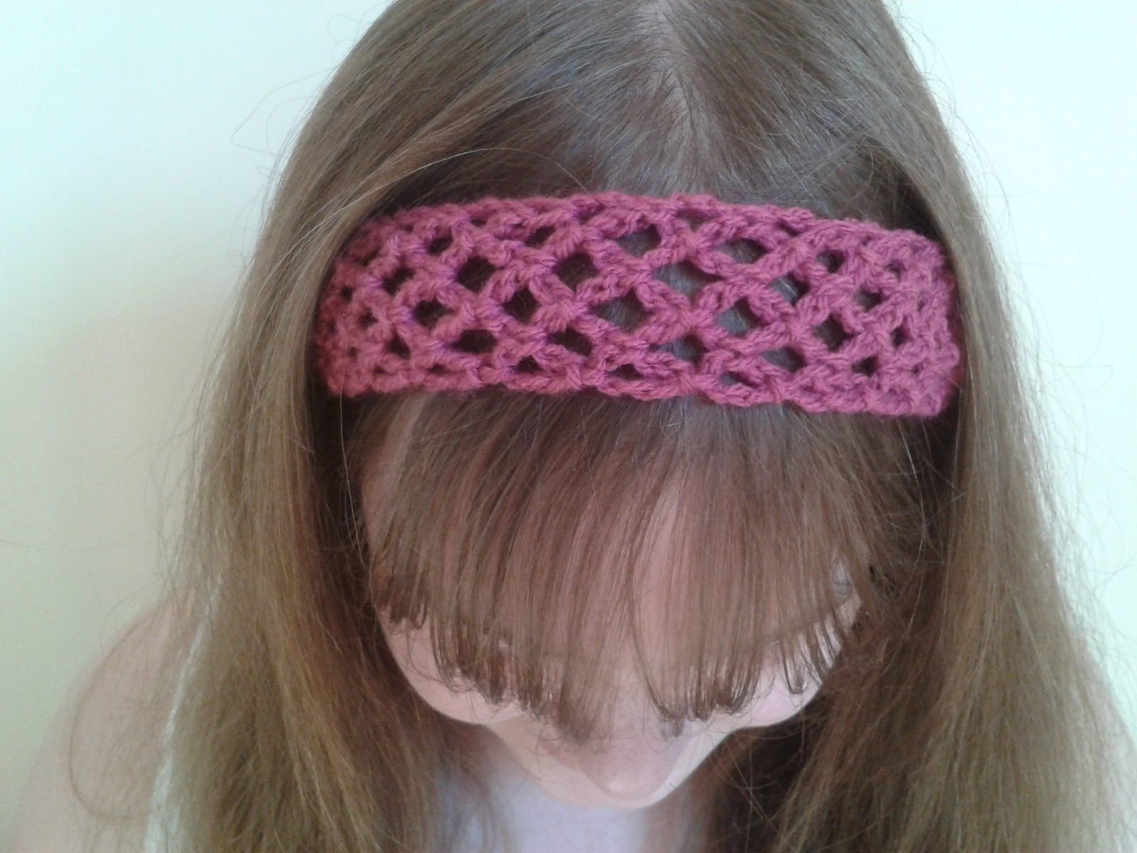 Crocheting A Headband : ... to comment and tell us how you customized your headband for spring