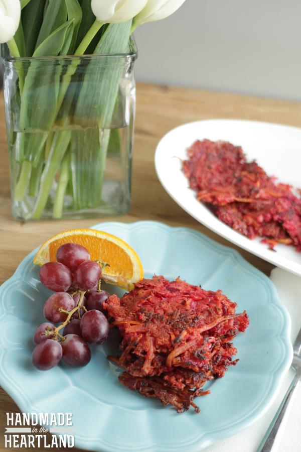 ... today beet and carrot latkes carrot and beet latkes recipes dishmaps