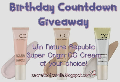 http://secretsofcamille.blogspot.com/2013/10/birthday-countdown-giveaway-open.html