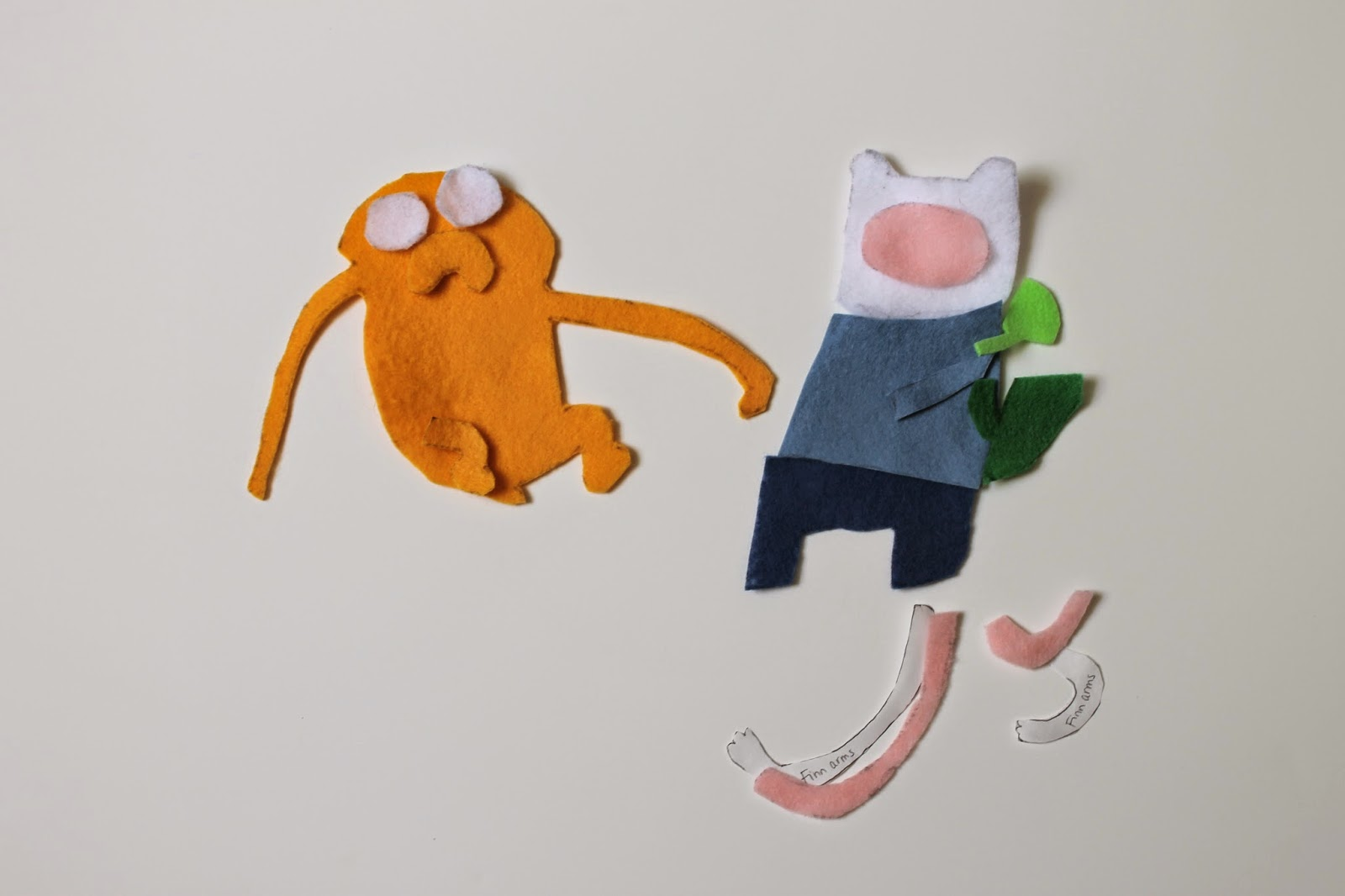 The feisty redhead adventure time felt applique how to