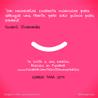 Te invito a una sonrisa :)
