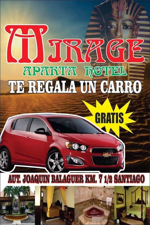 MIRAGE TE REGALA UN CARRO