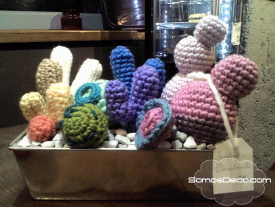 como hacer cactus de crochet