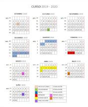 Calendario Escolar 2019/20