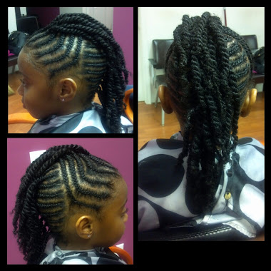 Mohawk/ Two Strand Twist