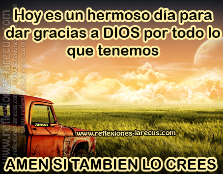 hoy, día, hermoso, Dios, amen