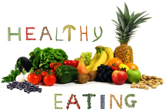 Eat healthy stay young