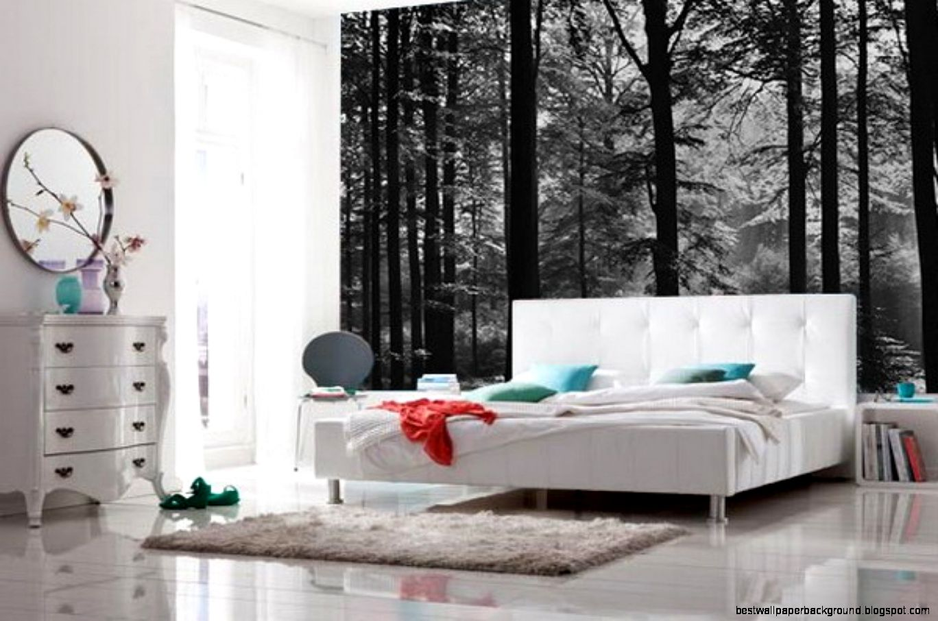 bedroom mural wallpaper 2015   Grasscloth Wallpaper