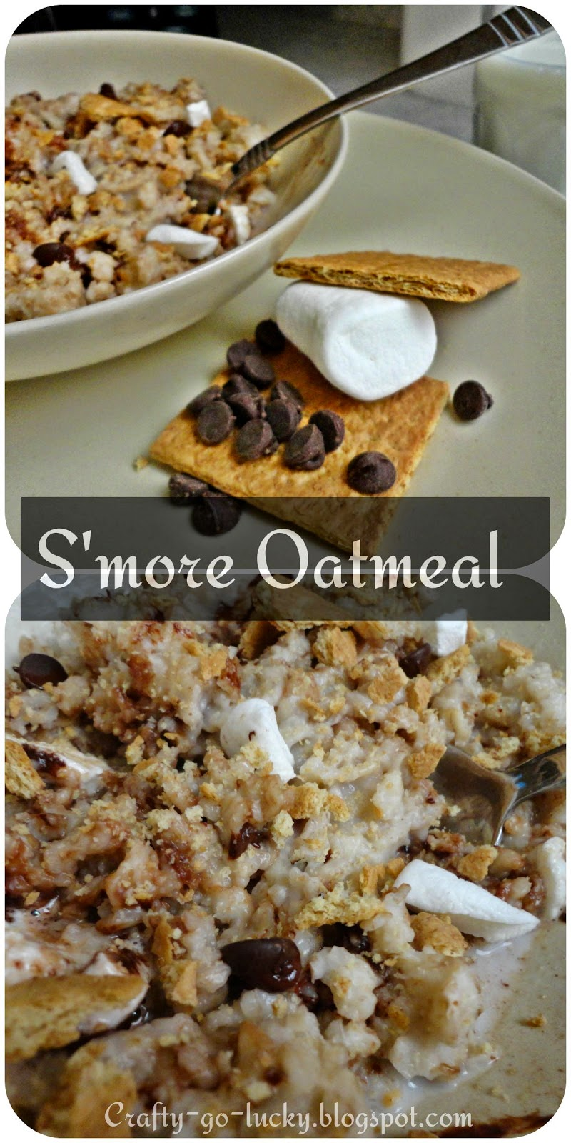 S'more Oatmeal [Tried & True-ly Yummy!]