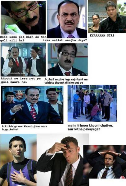 Norris Cid Comedy Funny Indian Photos Hindi Humour Images Jokes