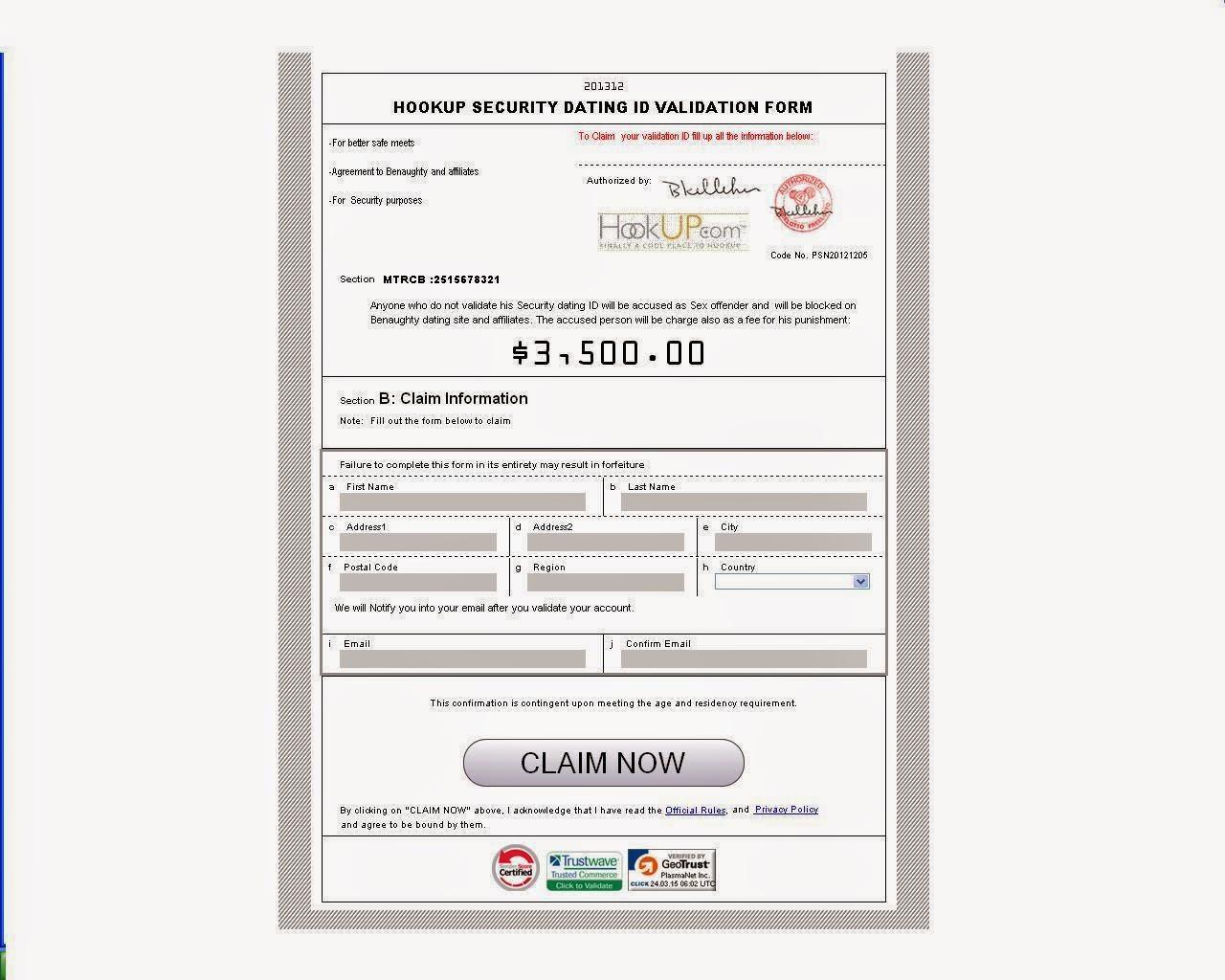 hookup id license